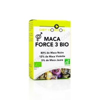 Maca force 3 bio 60 g&eacute;lules