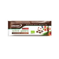 Active greens chocolate covered protein 70g