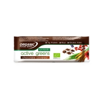 Active greens chocolate covered probiotic 70g