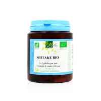 Shiitake bio 200 gélules