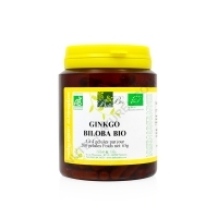 Ginkgo biloba bio 200 gélules