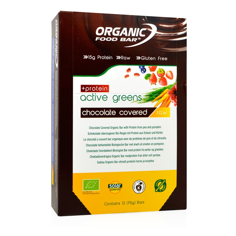 Organic Food Bar Active Greens Canada