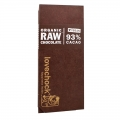 Lovechock tablette 93% cacao 70g