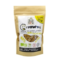 Crraw'Déj graines germées cacao fruits secs 300g