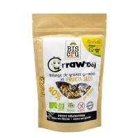 Crraw'Déj graines germées fruits secs 300g