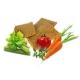 Crackers crus Légumes sans sel