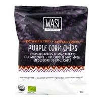 Chips de maïs mauve quinoa sésame épices bio 75g