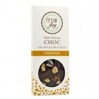 Tablette de cacao cru noisettes bio 30g