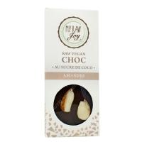 Tablette de cacao cru amandes bio 30g