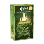 Chips de choux kale crues