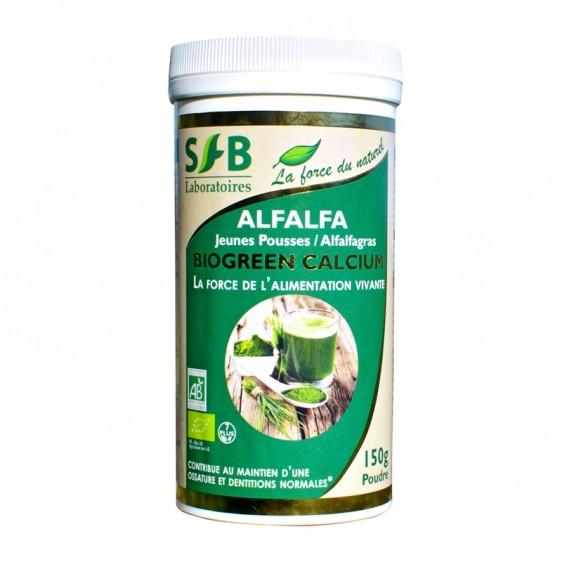Alfalfa bio en poudre 150g