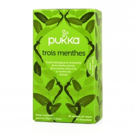 Tisane bio 3 menthes