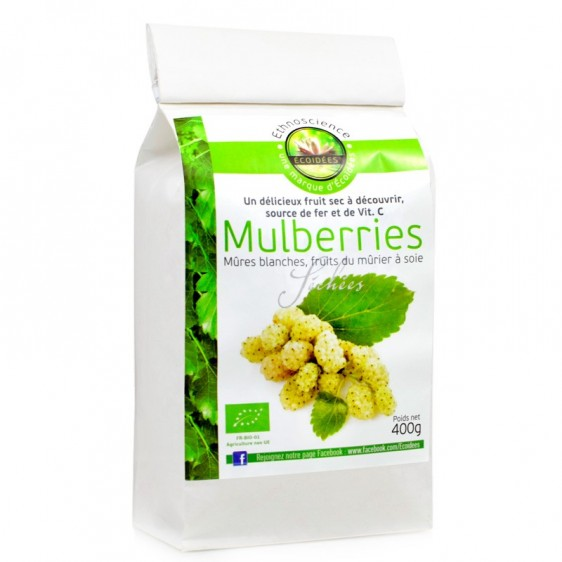 Mulberries bio 400g