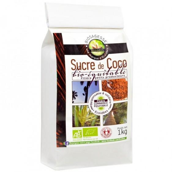 Sucre de coco bio équitable 1kg