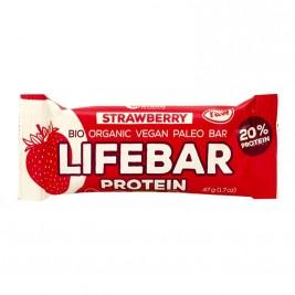 Lifebar Protein fraise 47g