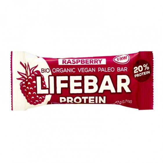 Lifebar Protein framboise 47g