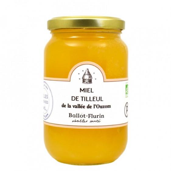 Miel de tilleul des Pyrénées bio 480g