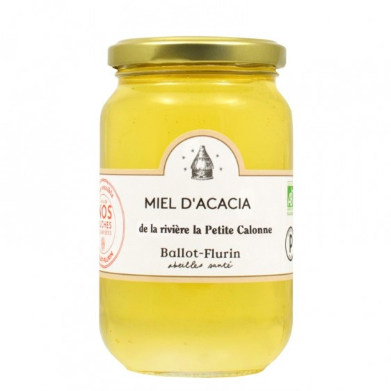 Miel d'acacia la rivière la Petite Calonne bio 480g