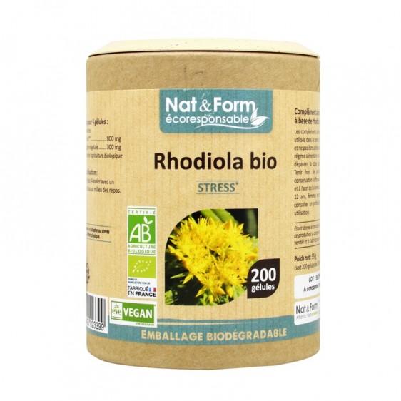 Rhodiola bio éco-responsable 200 gélules