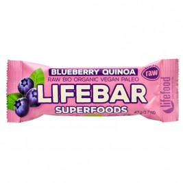 Lifebar Superfoods Myrtille quinoa 47g