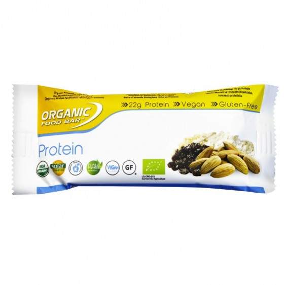 Organic Food bar Protein 75g