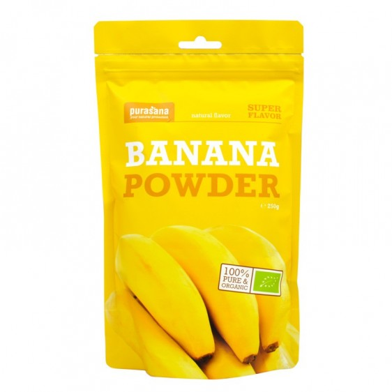 Banane bio en poudre 250g