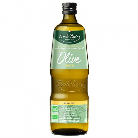 Huile d'Olive vierge extra douce bio 1Litre