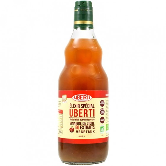 Elixir spécial Uberti 50 extraits végétaux bio 75cl