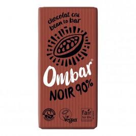 Ombar Noir 90% cacao cru 35g
