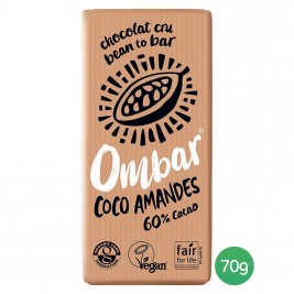 Ombar Coco amandes 70g
