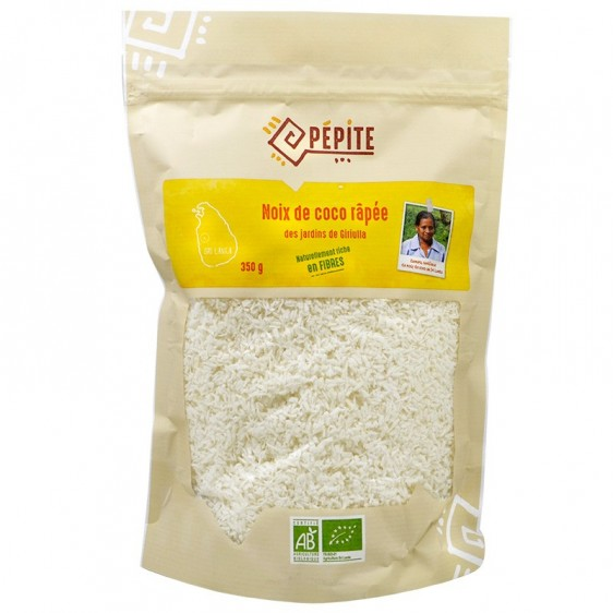 Noix de coco râpée bio 350g