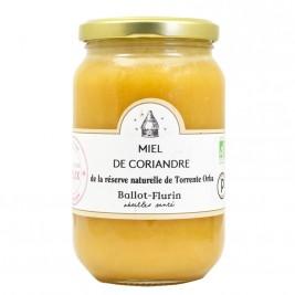 Miel de coriandre de la réserve naturelle Torrente Orba bio 480g