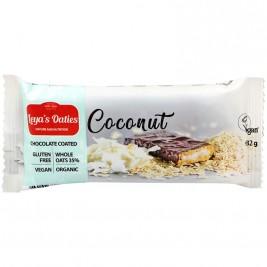 Leya's Oaties Barre fourrée noix de coco enrobée cacao 82g