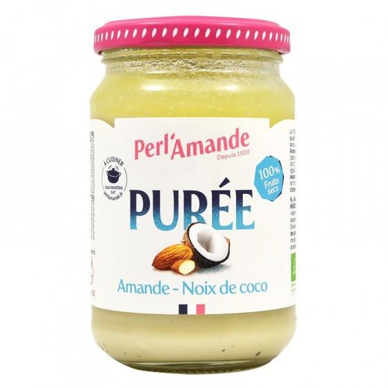 Purée d'amande banane caroube bio 300g