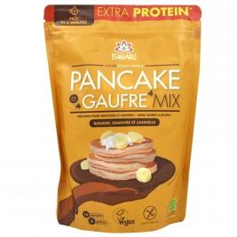 Mélange instantané pancakes et gaufres banane chanvre cannelle 400g