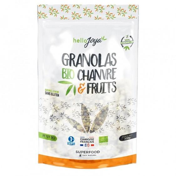 Granolas chanvre & fruits bio 300g