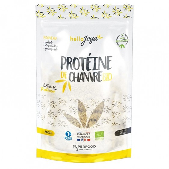 Protéine de chanvre bio 400g