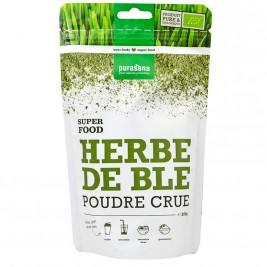 Poudre d'herbe de blé cru bio 200g