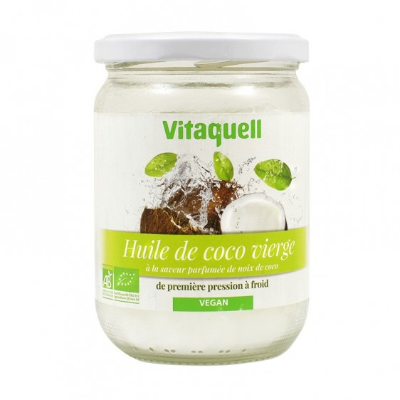 Huile de coco extra vierge bio équitable 430ml