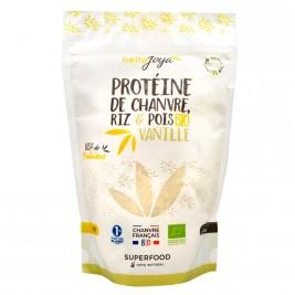 Protéine de chanvre riz pois vanille bio 400g