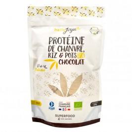 Protéine de chanvre riz pois chocolat bio 400g